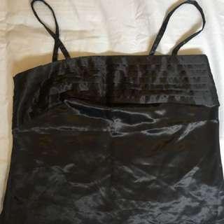 Elle mcpherson black Cami singlet top size 12 L