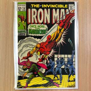 MARVEL COMICS The Invincible Iron Man #10-Mandarin Appearance (Serious Buyers Only)