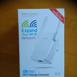 TP-Link WiFi range extendar AC750 RE210