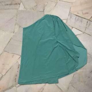 Turquoise Toga Dress
