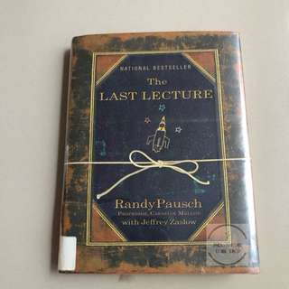 The Last Lecture - Randy Pausch. Hardcover (Preloved)