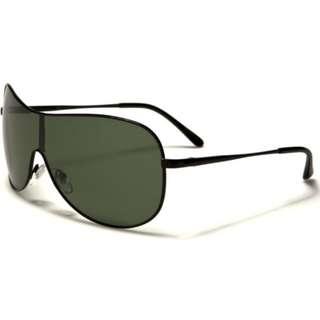 Polarized Shield Sunglasses Black 02