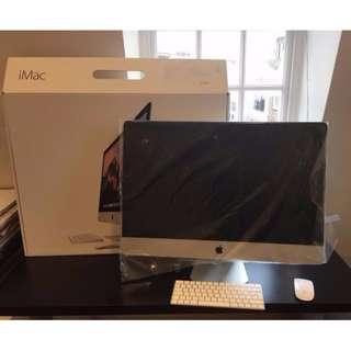 APPLE iMac 27 5K M390 1T的Fusion Drive 近全新 保固至2019一月底 可交換