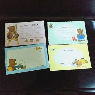 M. B .D Club Mr Bean Dream Bear Bear Memo Pad 熊紙 94 Sanrio
