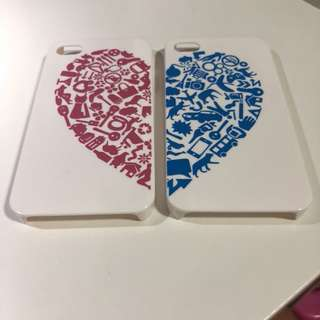 iPhone 4 Couple Cases
