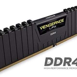 Corsair Vengeance LPX 16GB (2x8GB) DDR4 DRAM 3000MHz C15 Desktop Memory Kit