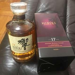 日本威士忌   響17年