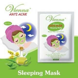 Vienna - Whitening Anti Acne Slepping Mask