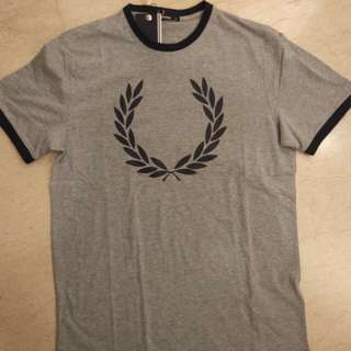 Bnwt authentic fred perry ringer tee laurel wreath