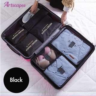 Luggage Travel Organiser Black or Grey