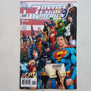 DC Comics Justice League of America 1 Near Mint Condition