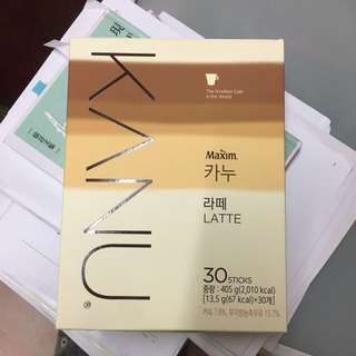 Kanu無糖latte 孔劉代言