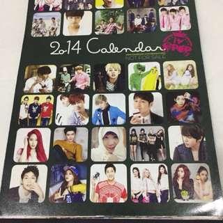 Kpop calendar
