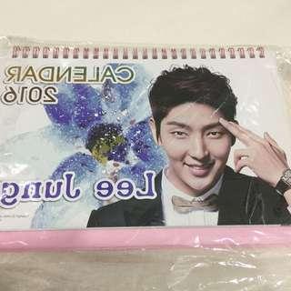 Lee Joon Ki Calendar