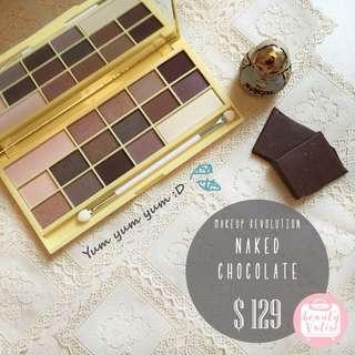 16色大地色Chocolate Palette - Naked Chocolate💛