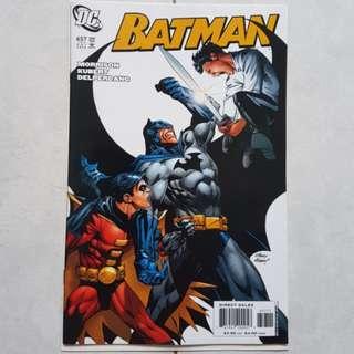 DC Comics Batman 657 Near Mint Condition Second Appearance of Damien Wayne