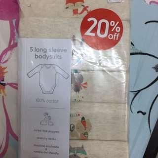 Mothercare bodysuit
