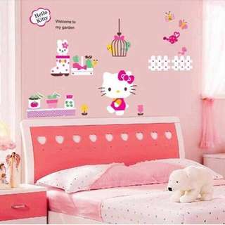 Hello Kitty Wall Decal Sticker