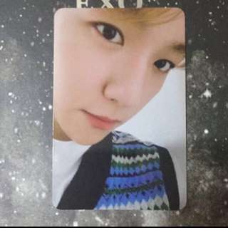 EXO 冬專universe 邊伯賢baekhyun 小卡只限郵寄,已包平郵
