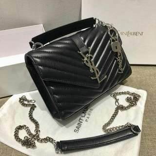 LIMITED!!! YSL FULL LEATHER HANDBAG