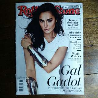 Gal Gadot | Rollingstone Magazine September 2017