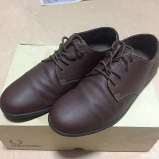 Fred Perry leather shoes(EU39/UK6/US7/JP25)