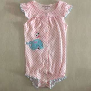 Almost New Baby Girl Romper