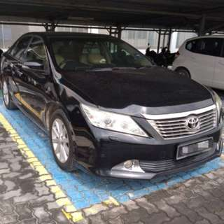 CASH : Year 2012 Toyota Camry 2.5 V (A)