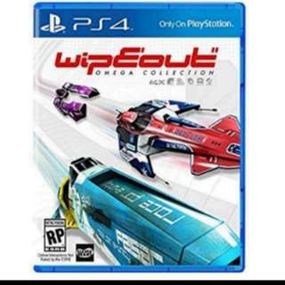 PS4 Game: Wipeout Omega Collection