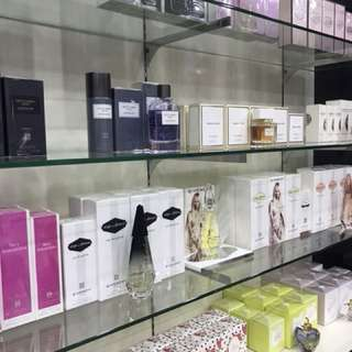 Authentic branded perfumes