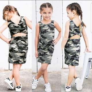 ❤INSTOCK❤ Kelly's Kid Camo Dress
