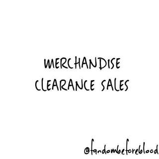 Clearance Sales for Fandom Merchandise
