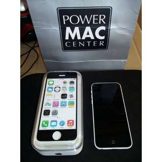 REPRICED, RUSH iPhone 5c white 16gb ((for shipping only))