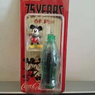 可口可樂 Coca Cola 米奇老鼠75年紀念匙扣