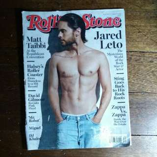 Jared Leto | Rollingstone Magazine August 2016