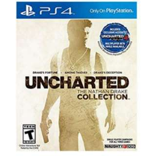 PS4 Game: Uncharted The Nathan Drake Collection