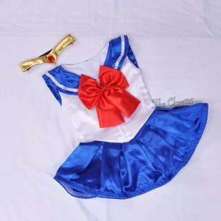 Sailor Moon costume with headpiece -