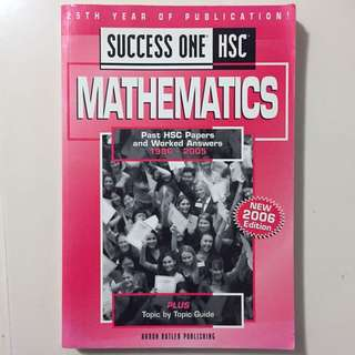 Success One HSC Mathematics (2U)