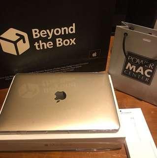 1 week old 12inch Macbook Retina 500gb