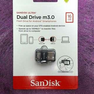 Sandisk Dual Drive (16gb)