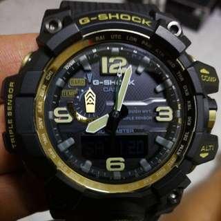 G shock 泥黃黑金