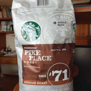 星巴克派克市場咖啡豆
