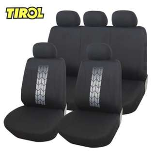 TIROL UNIVERSAL CAR FRONT BACK SEAT COVER INTERIOR PROTECTOR
