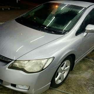 Honda Civic Fd 1.8 auto padleshif