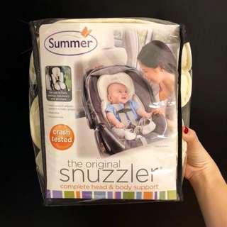Summer infant snuzzler infant support for car seat and stroller