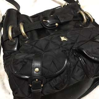 Burberry shoulder bucket bag