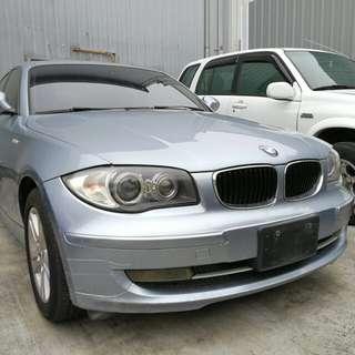 BMW女用五門掀背118i喜歡便宜賣.買到賺到可換車. 高雄0930008019加賴ki66