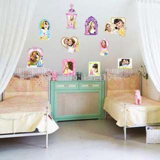 Princess Nursery Room Wall Decal Sticker