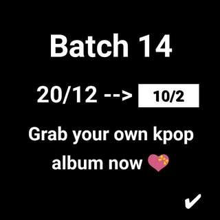 Kpop album !!!