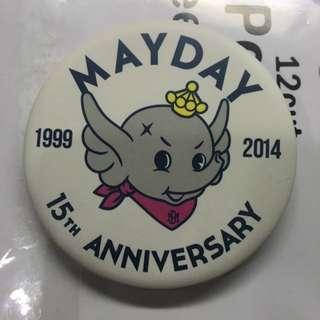 🚚 五月天15週年正版巨象徽章
